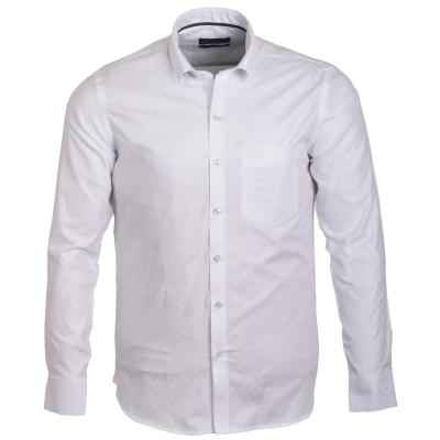 Solid Slim Formal Cotton Shirt_S32987